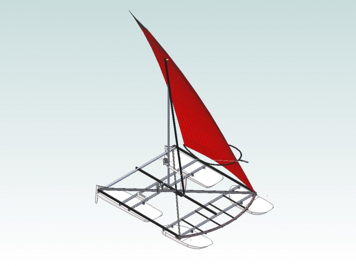 Double action sail